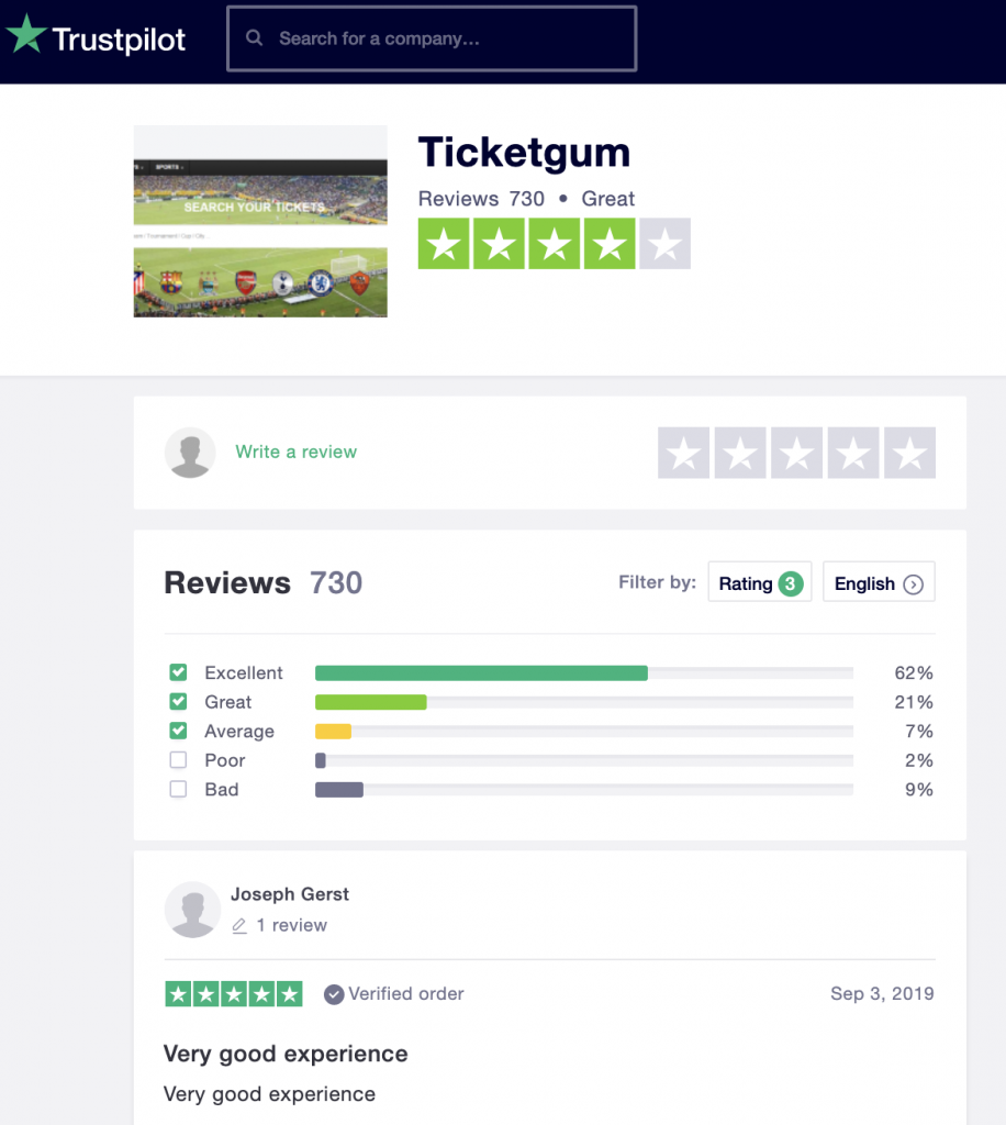 Ticketgum-Reviews-Trustpilot