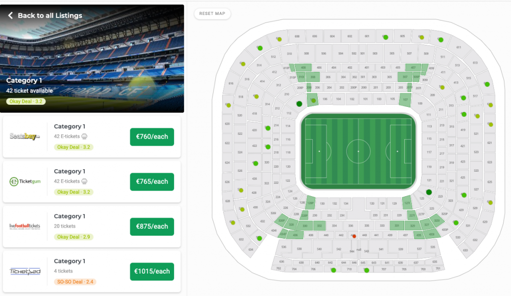 Best Value for Money Tickets for the El-Classico-seatpick